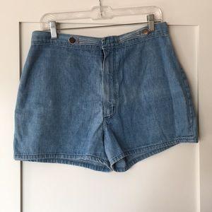 Wrangler Vintage Denim Shorts